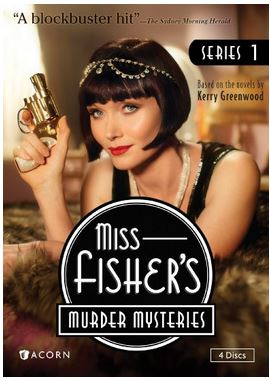 miss fisher murder mysteries DVD box cover season 1