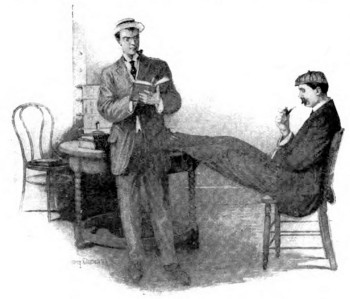 "Illustration from ""Mickey Sweeney, Detective of Detectives"" by Lincoln Steffens"