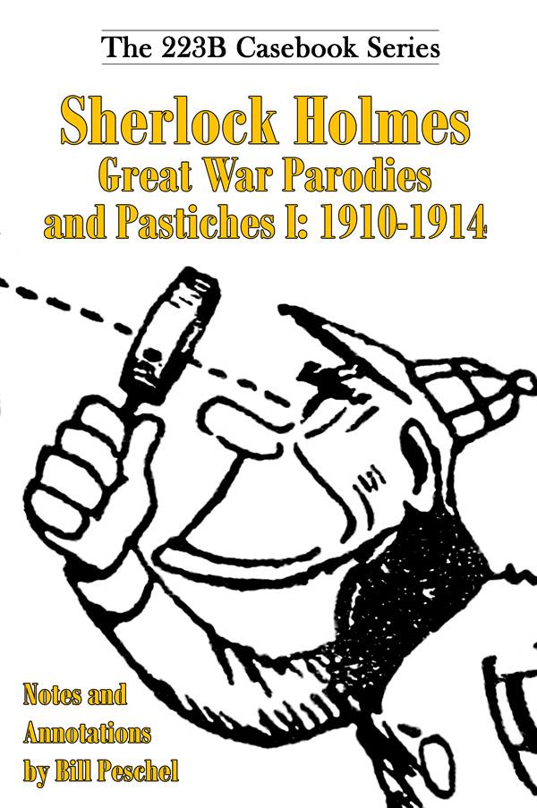 Sherlock Holmes Great War I cover