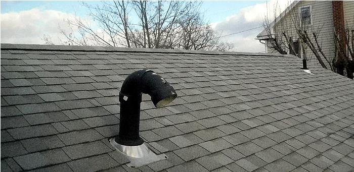 house venting ridge vent